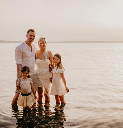 Družinsko fotografiranje v Crikvenici – Hrvaška