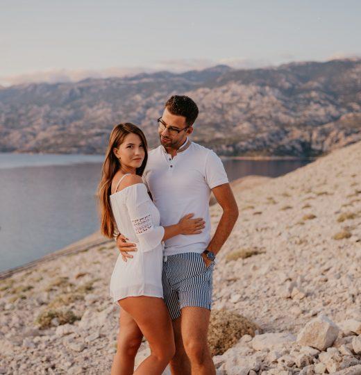 Tjaša in Grega, otok Pag – Hrvaška